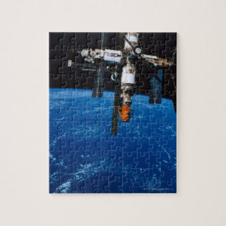 Space Station in Orbit Jigsaw Puzzle