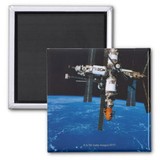 Space Station in Orbit Magnet