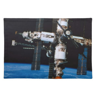 Space Station in Orbit Placemat