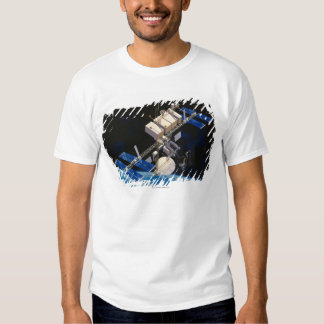 Space Station Orbiting Earth 10 Shirts