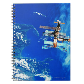Space Station Orbiting Earth 2 Notebook
