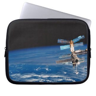 Space Station Orbiting Earth 3 Laptop Sleeve