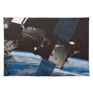 Space Station Orbiting Earth 6 Placemat