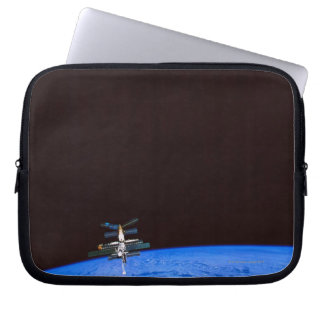 Space Station Orbiting Earth 8 Laptop Sleeve