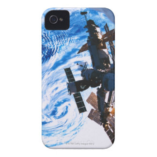 Space Station Orbiting Earth 9 iPhone 4 Cover
