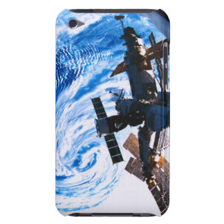 Space Station Orbiting Earth 9 iPod Touch Case-Mate Case