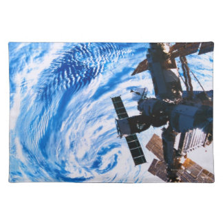 Space Station Orbiting Earth 9 Placemats