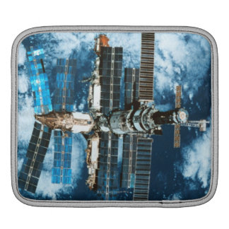 Space Station Orbiting Earth iPad Sleeve