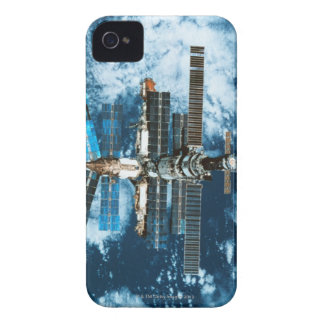 Space Station Orbiting Earth iPhone 4 Case-Mate Case