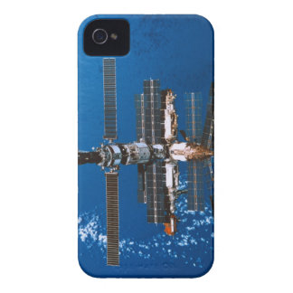 Space Station Orbiting in Space iPhone 4 Cover