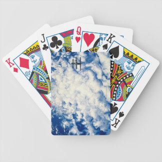 Space Station over the Pacific Bicycle Playing Cards