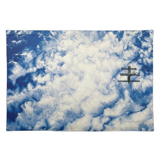 Space Station over the Pacific Placemats