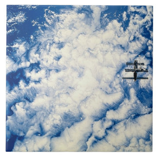 Space Station over the Pacific Tile