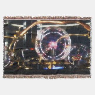 space steampunk blanket rug
