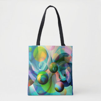 Space Symphony Tote Bag