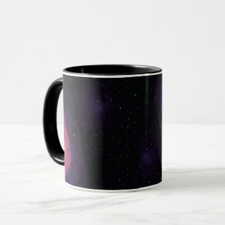 Space system on mug