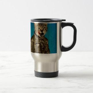 space tastes good blue travel mug