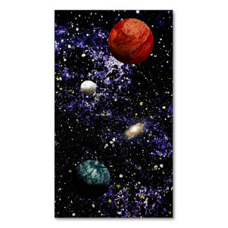 SPACE THE FINAL FRONTIER (composition 1) ~.jpg Magnetic Business Cards