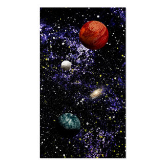 SPACE THE FINAL FRONTIER (composition 1) ~.jpg Pack Of Standard Business Cards