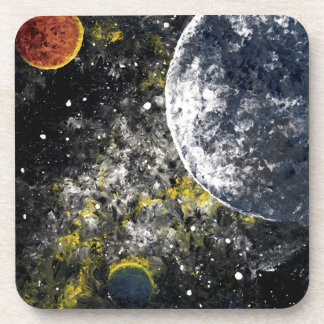 SPACE THE FINAL FRONTIER DRINK COASTER