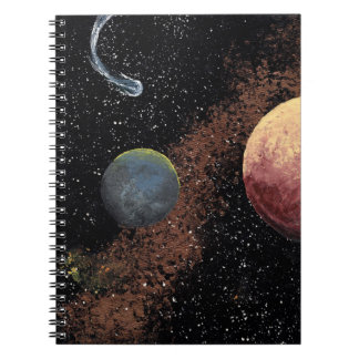 SPACE THE FINAL FRONTIER SPIRAL NOTEBOOK