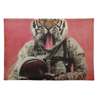 Space tiger placemat