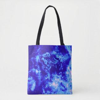 Space Tiger Tote Bag