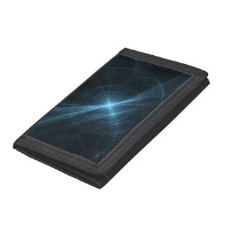 Space-Time Continuum Tri-fold Wallets