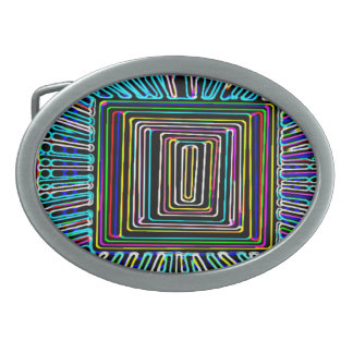 Space Travel Art - Fly Invisible Button Belt Buckles