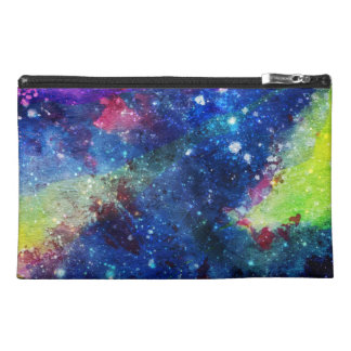 Space traveller spatial galaxy painting travel accessory bags