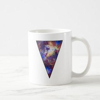 Space Triangle Basic White Mug