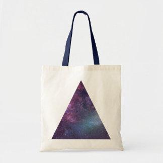 Space Triangle (Mini Tote) Bags