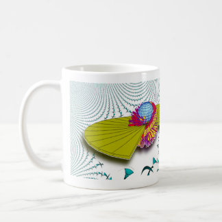 Space Trucking coffee cup Basic White Mug