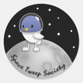 Space Tweep Society Logo Sticker