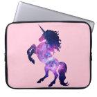 Space unicorn laptop sleeve