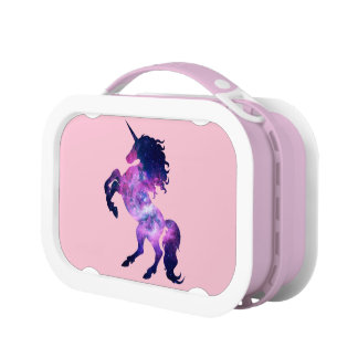 Space unicorn lunch box