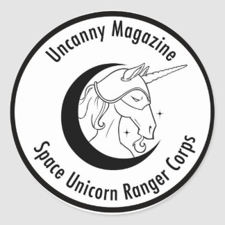 Space Unicorn Ranger Corps sticker
