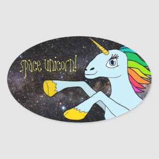 Space Unicorn! sticker