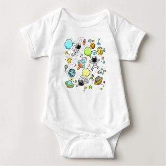 Space Vest Baby Bodysuit