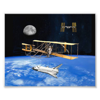 SPACE VOYAGERS PHOTO PRINT