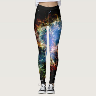 Space Wear: Crab Nebula Leggings
