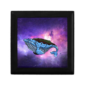 space whale gift box