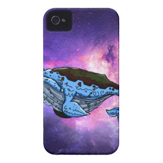 space whale iPhone 4 Case-Mate cases