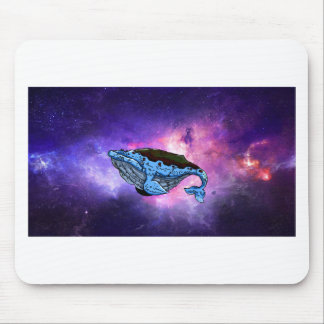 space whale mouse mat