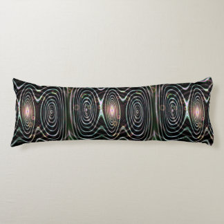 Space worlds, spirals of time body cushion