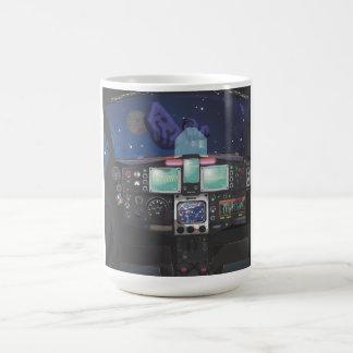 Spacecraft Console Basic White Mug