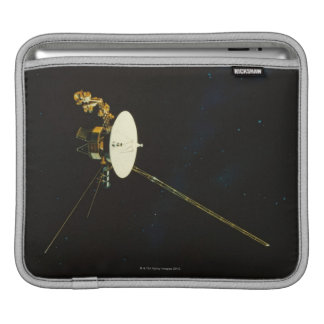Spacecraft in Space iPad Sleeve