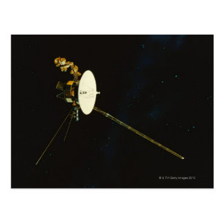 Spacecraft in Space Postcard