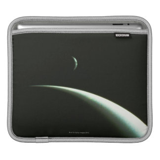 Spacecraft Over Neptune iPad Sleeve