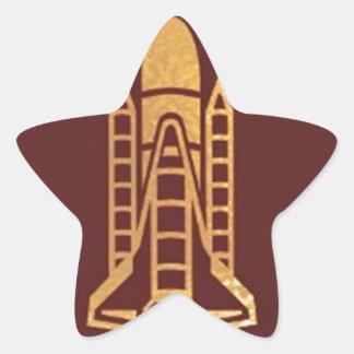 SPACECRAFT space craft Star Sticker